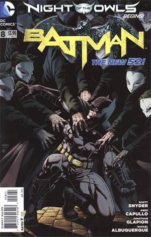 Batman Vol 2 #8 Variant Ian Churchill Cover