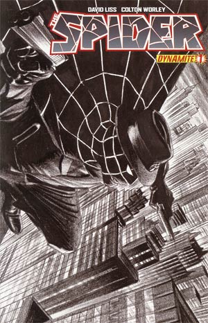 Spider #1 Incentive Alex Ross Sketch Cover