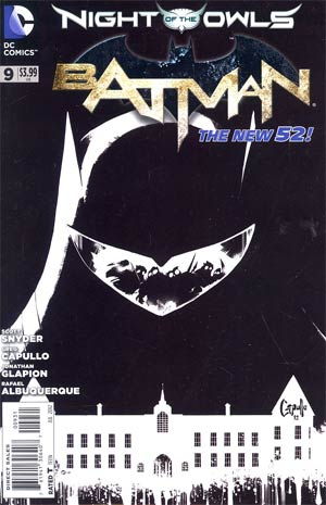 Batman Vol 2 #9 Incentive Greg Capullo Sketch Cover (Night Of The Owls Tie-In)