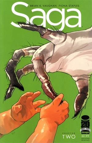 Saga #2 2nd Ptg Variant Cover