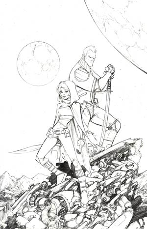 Higher Earth #1 Incentive Joe Benitez Sketch Cover