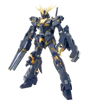 Gundam Model Kit Action Figure Master Grade 1/100 Scale - RX-0 Unicorn Gundam 02 Banshee Full Psycho-Frame Prototype Mobile Suit