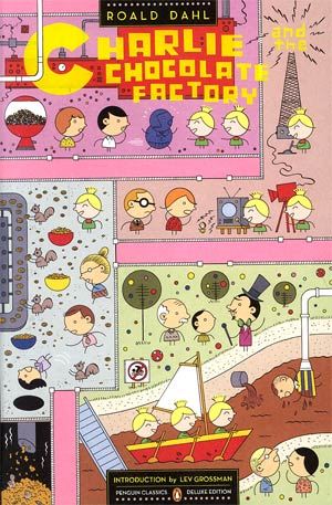 Charlie And The Chocolate Factory TP Cover By Ivan Brunetti