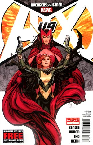 Avengers vs X-Men #0 Cover C 3rd Ptg Frank Cho Variant Cover