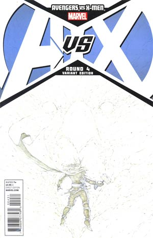 Avengers vs X-Men #4 Incentive Jerome Opena Sketch Cover