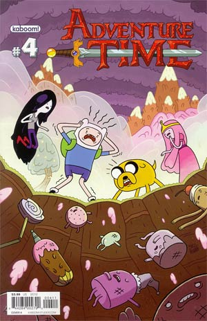 Adventure Time #4 Regular Cover A