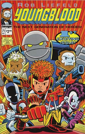 Youngblood Vol 4 #71 1st Ptg Cvr C Chris Giarrusso