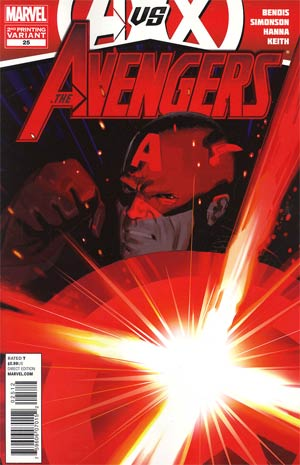 Avengers Vol 4 #25 2nd Ptg Daniel Acuna Variant Cover (Avengers vs X-Men Tie-In)
