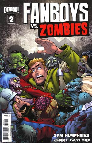 Fanboys vs Zombies #2 2nd Ptg