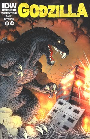 Godzilla Vol 2 #1 Incentive Art Adams Gatefold Variant Cover