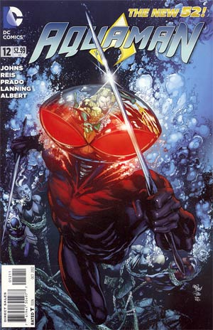Aquaman Vol 5 #12 Regular Ivan Reis Cover