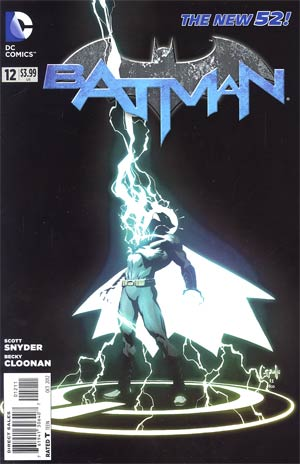 Batman Vol 2 #12  Regular Greg Capullo Cover