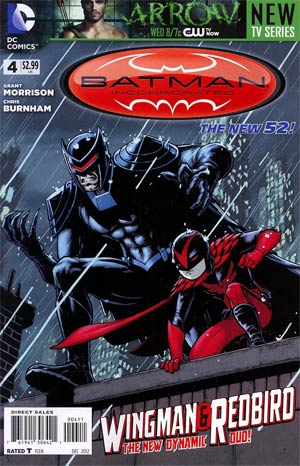 Batman Incorporated Vol 2  #4 Cover A Regular Chris Burnham Cover