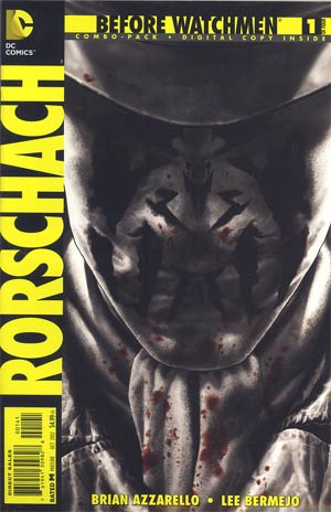 Before Watchmen Rorschach #1 Combo Pack With Polybag
