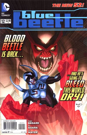 Blue Beetle (DC) Vol 3 #12