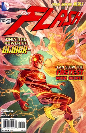 Flash Vol 4 #12 Regular Francis Manapul Cover