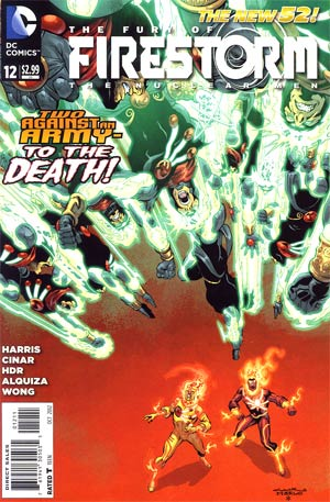 Fury Of Firestorm The Nuclear Men #12