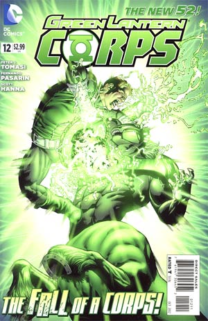 Green Lantern Corps Vol 3 #12