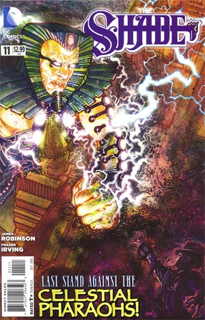 Shade Vol 2 #11 Regular Tony Harris Cover