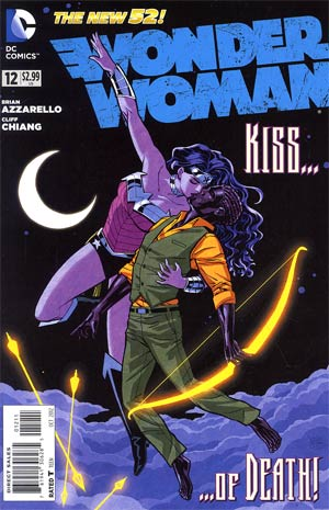 Wonder Woman Vol 4 #12 Regular Cliff Chiang Cover