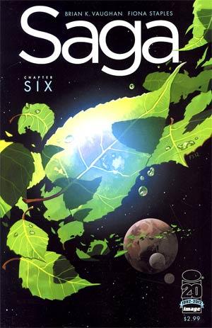Saga #6 1st Ptg