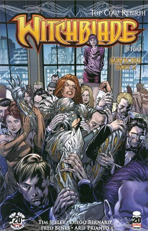Witchblade #160 Cover B Diego Bernard & Fred Benes