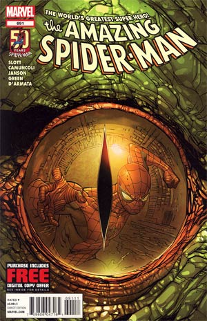 Amazing Spider-Man Vol 2 #691 Cover A Regular Giuseppe Camuncoli Cover