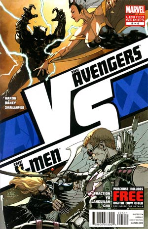 AVX VS #5 Regular Leinil Francis Yu Cover (Avengers vs X-Men Tie-In)