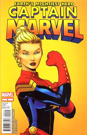 Captain Marvel Vol 6 #2 1st Ptg