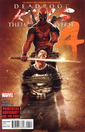 Deadpool Kills The Marvel Universe #4 1st Ptg