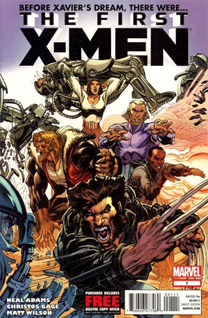 First X-Men #1 Regular Neal Adams Cover