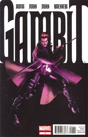 Gambit Vol 5 #1 1st Ptg Regular Clay Mann Cover