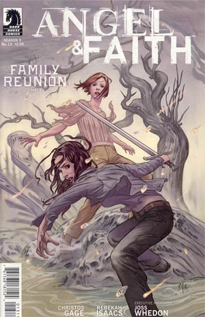Angel And Faith #13 Cover A Regular Steve Morris Cover