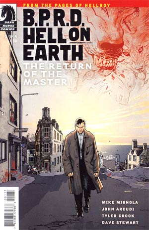 BPRD Hell On Earth Return Of The Master #1 Regular Ryan Sook Cover