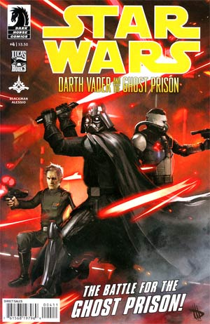 Star Wars Darth Vader And The Ghost Prison #4