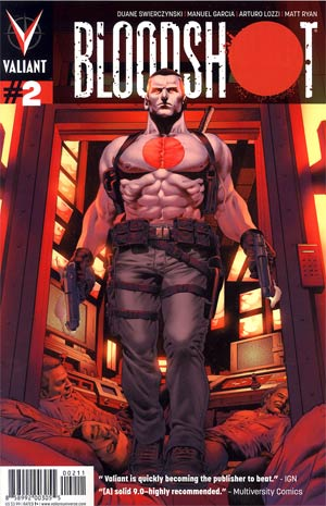Bloodshot Vol 3 #2 1st Ptg Regular Arturo Lozzi Cover
