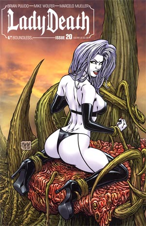 Lady Death Vol 3 #20 Sultry Cover