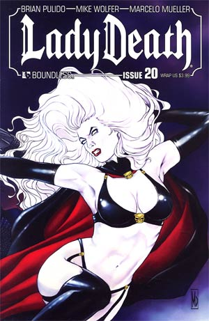 Lady Death Vol 3 #20 Wraparound Cover