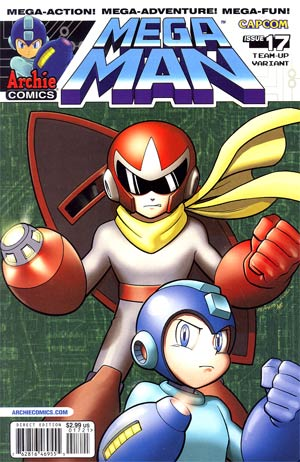 Mega Man Vol 2 #17 Variant Cover