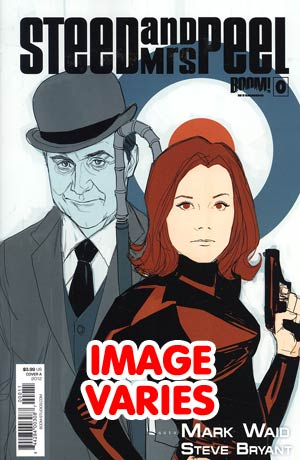 DO NOT USE Steed And Mrs Peel Vol 2 #0 Regular Cover (Filled Randomly With 1 Of 2 Covers)