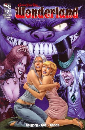 Grimm Fairy Tales Presents Wonderland Vol 2 #2 Cover A Anthony Spay