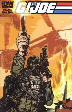 GI Joe Vol 5 #16 Regular Tommy Lee Edwards Cover