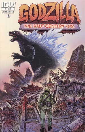 Godzilla Half-Century War #1 Regular James Stokoe Cover