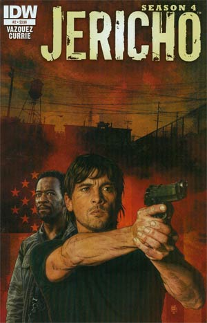 Jericho Season 4 #2 Regular Tim Bradstreet Cover