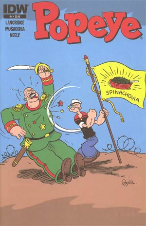 Popeye Vol 3 #4 Regular Bruce Ozella Cover