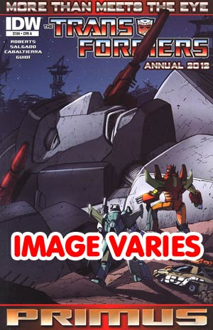 DO NOT USE Transformers More Than Meets The Eye Annual 2012 #1 1st Ptg Regular Cover (Filled Randomly With 1 Of 2 Covers)