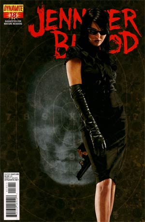 Garth Ennis Jennifer Blood #18 Regular Tim Bradstreet Cover