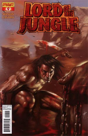 Lord Of The Jungle #9 Regular Lucio Parrillo Cover