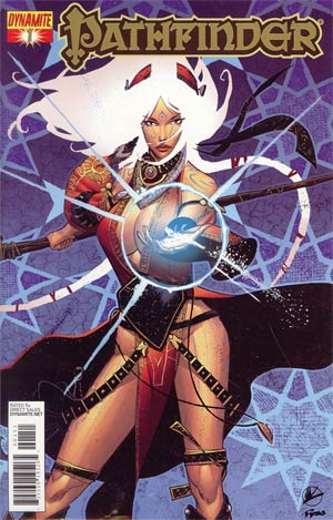 Pathfinder #1 High End Foil Cover