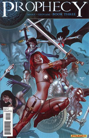 Prophecy #3 Regular Paul Renaud Cover